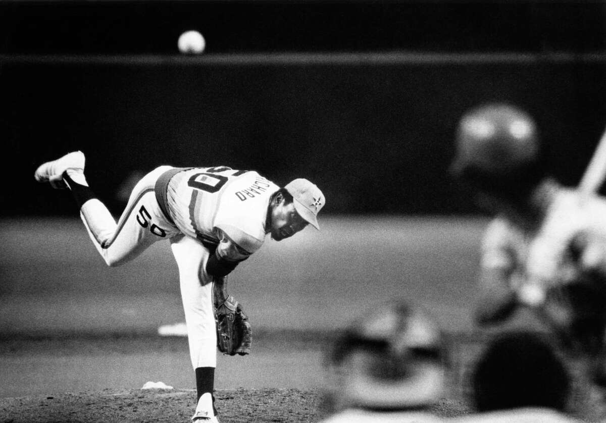 J.R. Richard pitched for Houston from 1971-80, going 107-71 with a 3.15 ERA and 76 complete games.