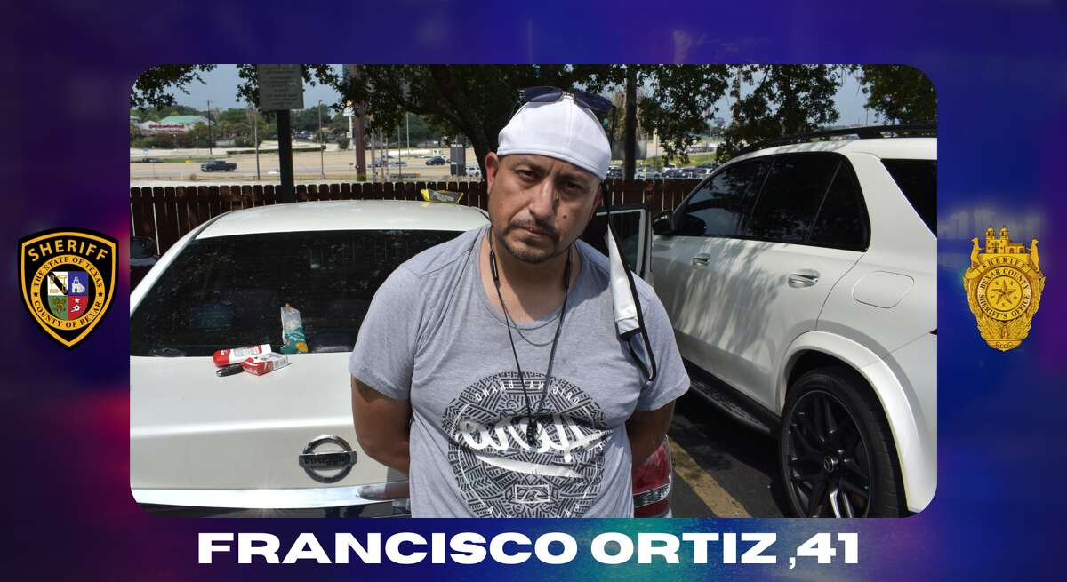 Bexas County Sheriff deputies arrested a 41-year-old Francisco Ortiz on Wednesday. He faces a federal charge of possession with intent to distribute over 500 grams of a controlled substance.