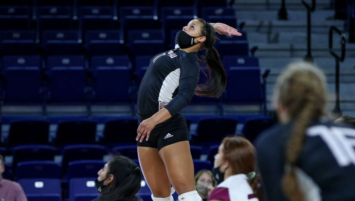 Rio Orion was one of five TAMIU volleyball players recognized with the Division 2 Athletic Director's Association Academic Achievement Award.