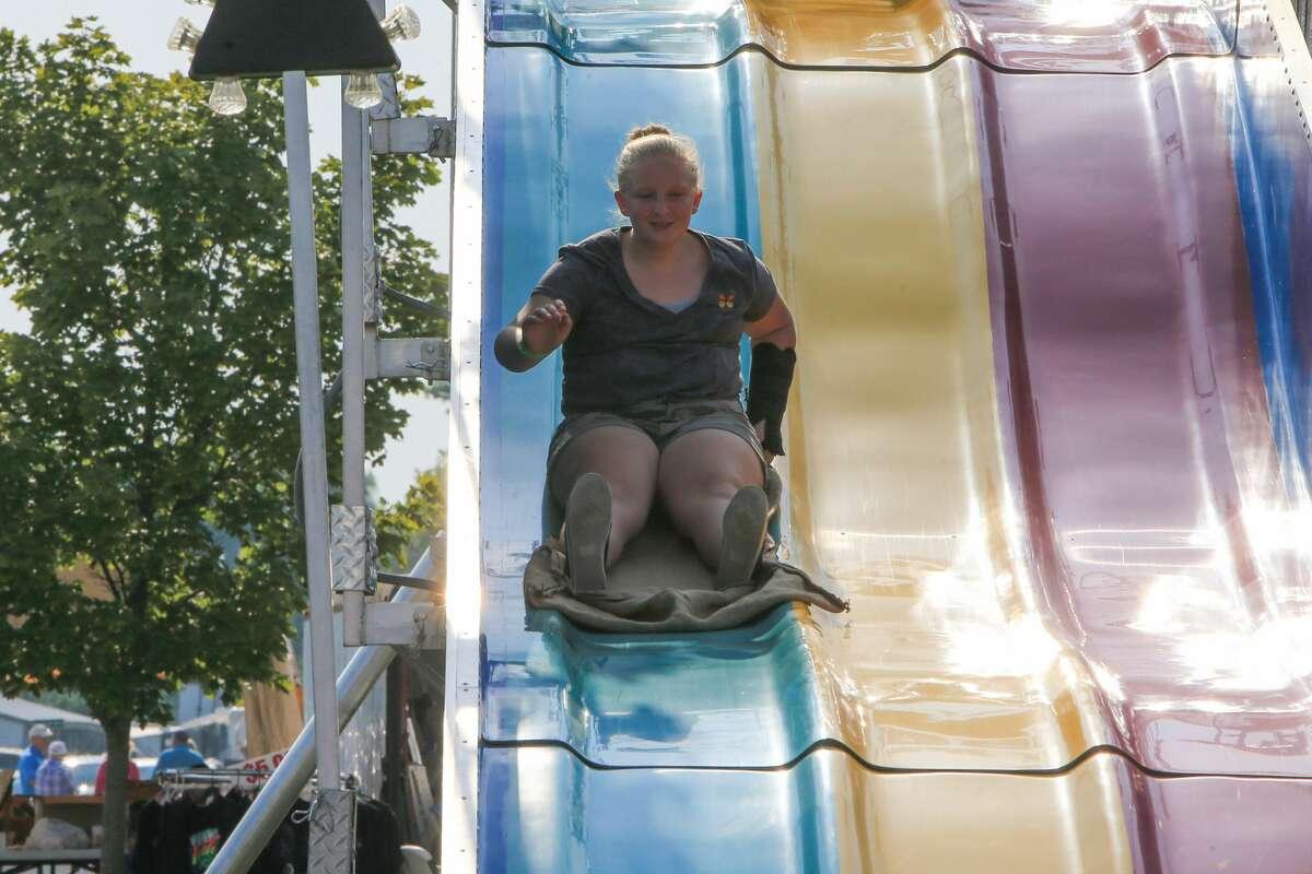 The Huron Community Fair continued Thursday at the fairgrounds.