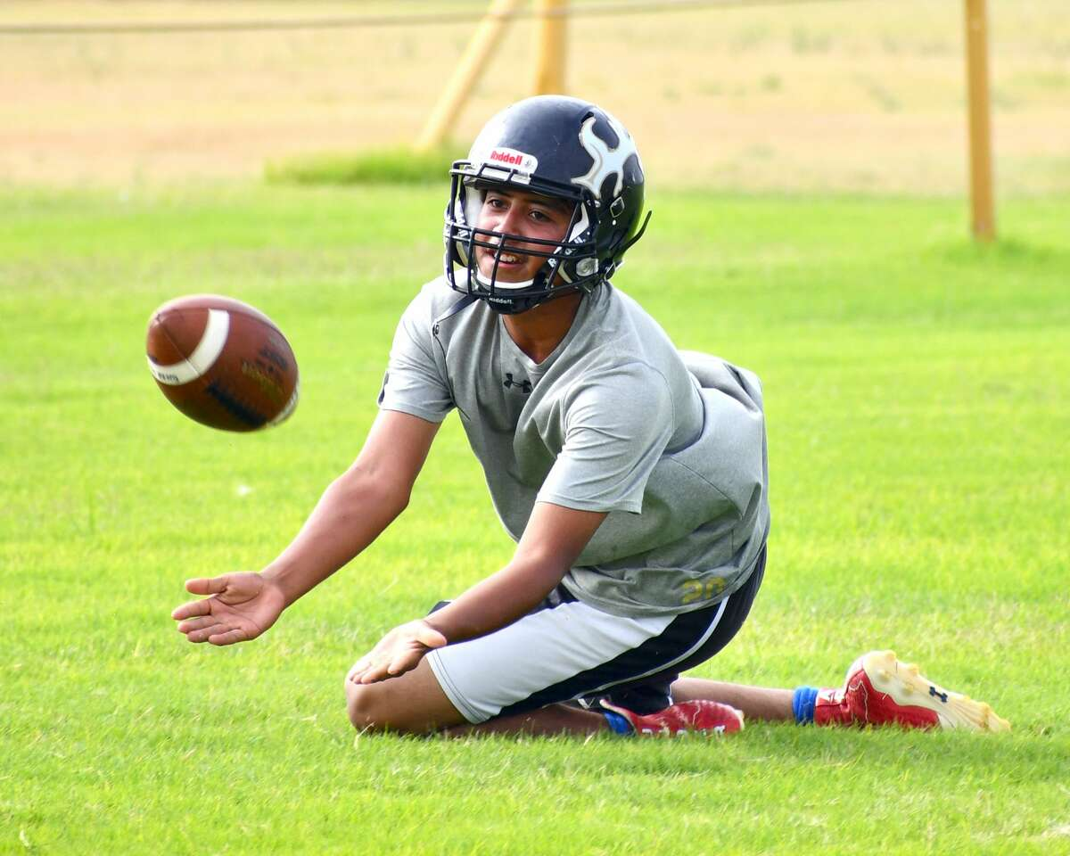 The Cotton Center football team continued its preseason practice schedule on Thursday.