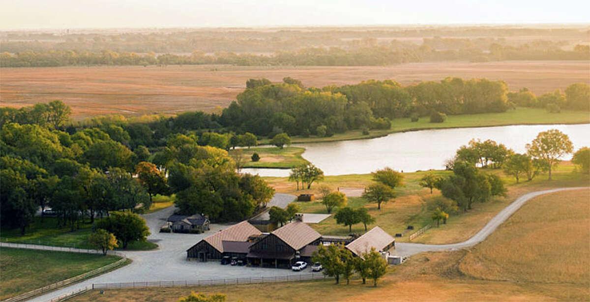 Hooray Ranch spans five counties in Kansas.