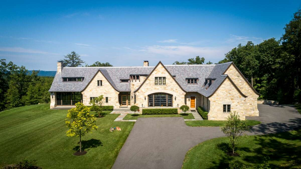 The home on 46 June Road in Washington, Conn. has five bedrooms, five bathrooms and 11,000 square feet of living space.