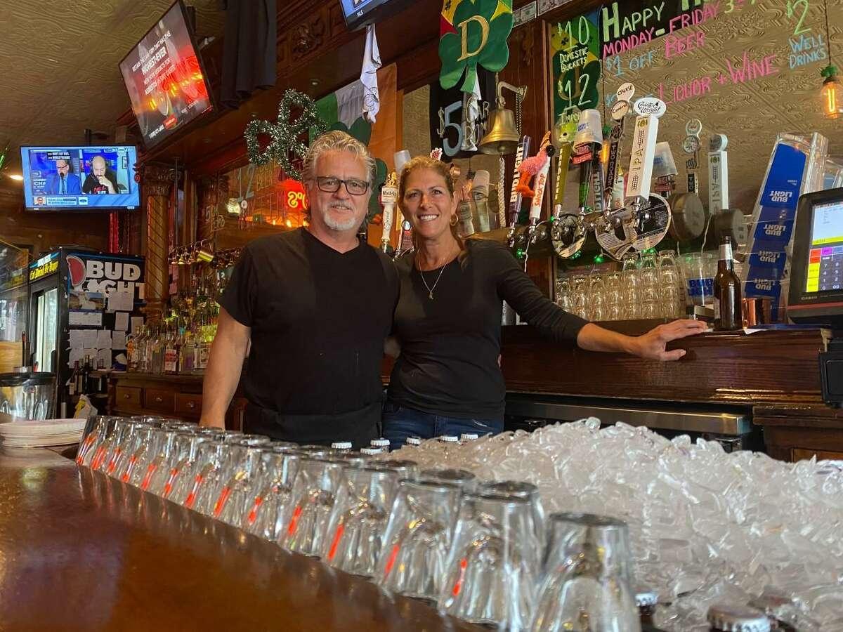 Dan and Linda Orazietti, owner of The Pub on Howe.