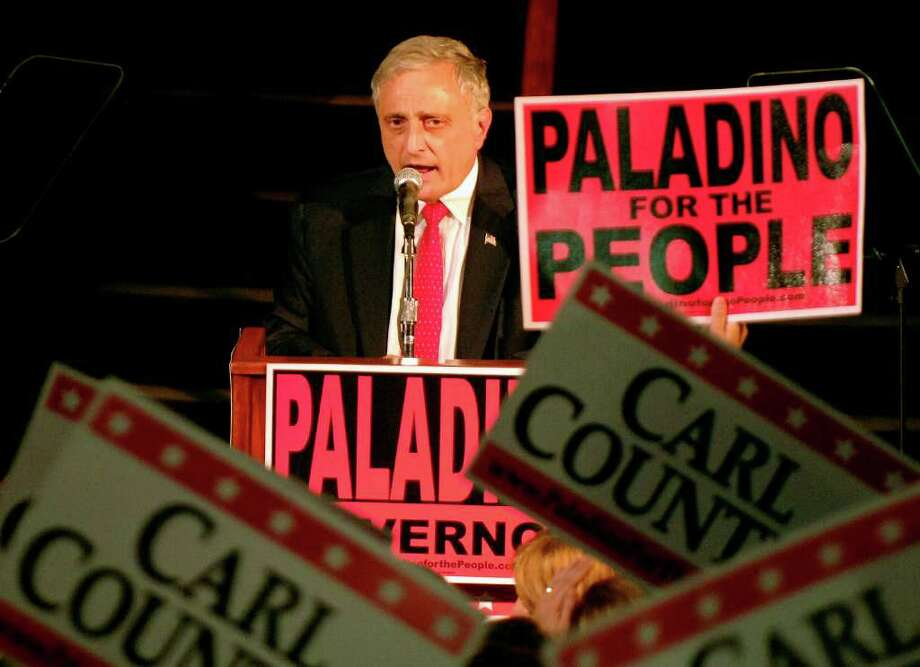 Carl Paladino is working on Republican party reform efforts in the wake of his upset win  of Tuesday's GOP primary for governor. (AP Photo/Don Heupel) Photo: Don Heupel / FR48438 AP