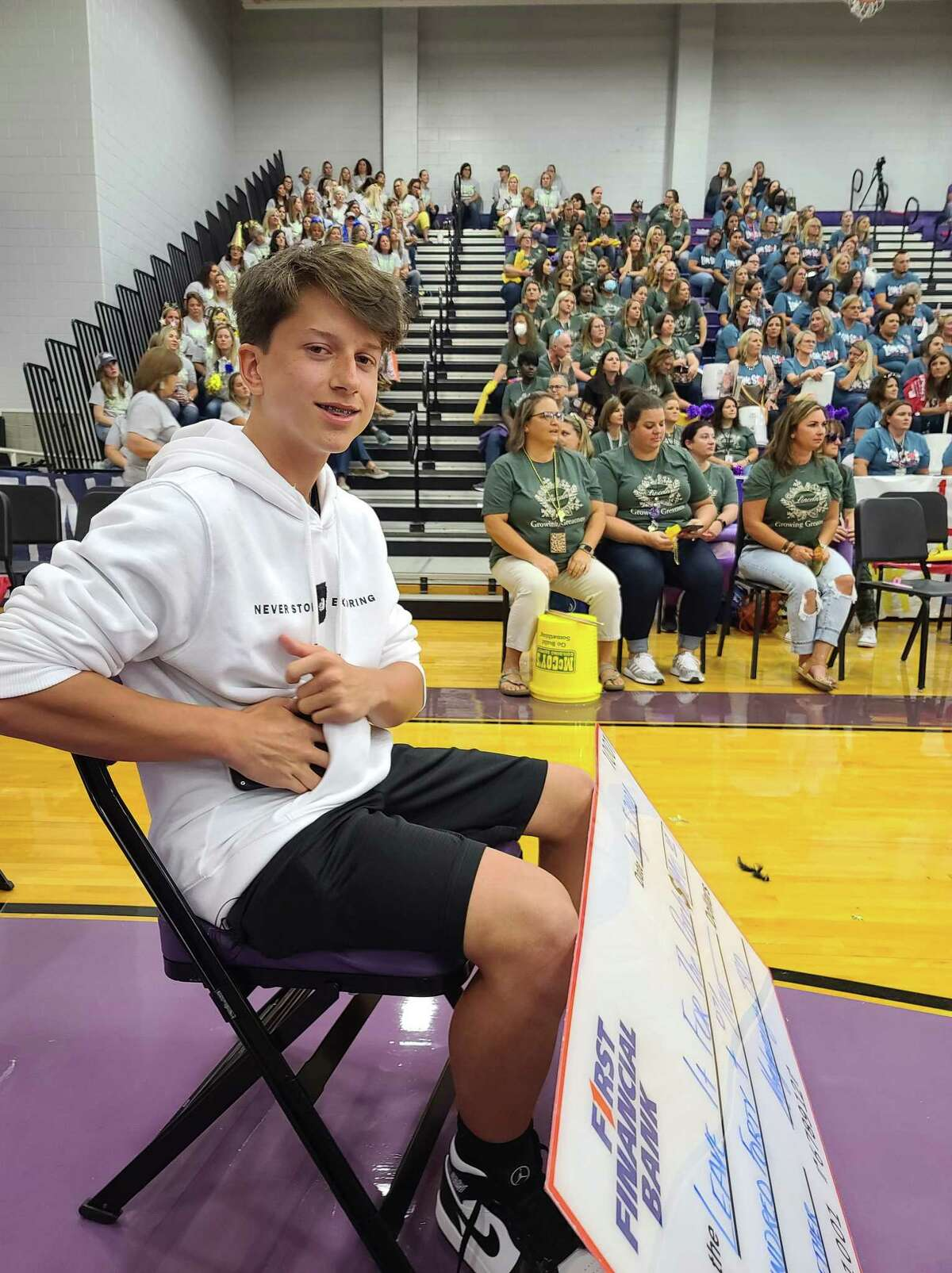 On Thursday, the Montgomery ISD convocation ceremony took place and they honored Jayson Kimberly who started the nonprofit Leave it for the Pooch.