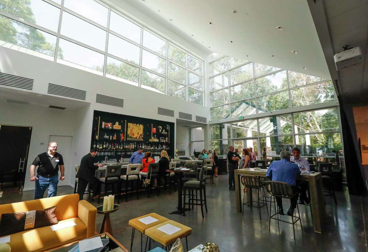 The Glade Cultural Center recently opened a new bar to complement its exhibition space showcasing local and international artist in The Woodlands.