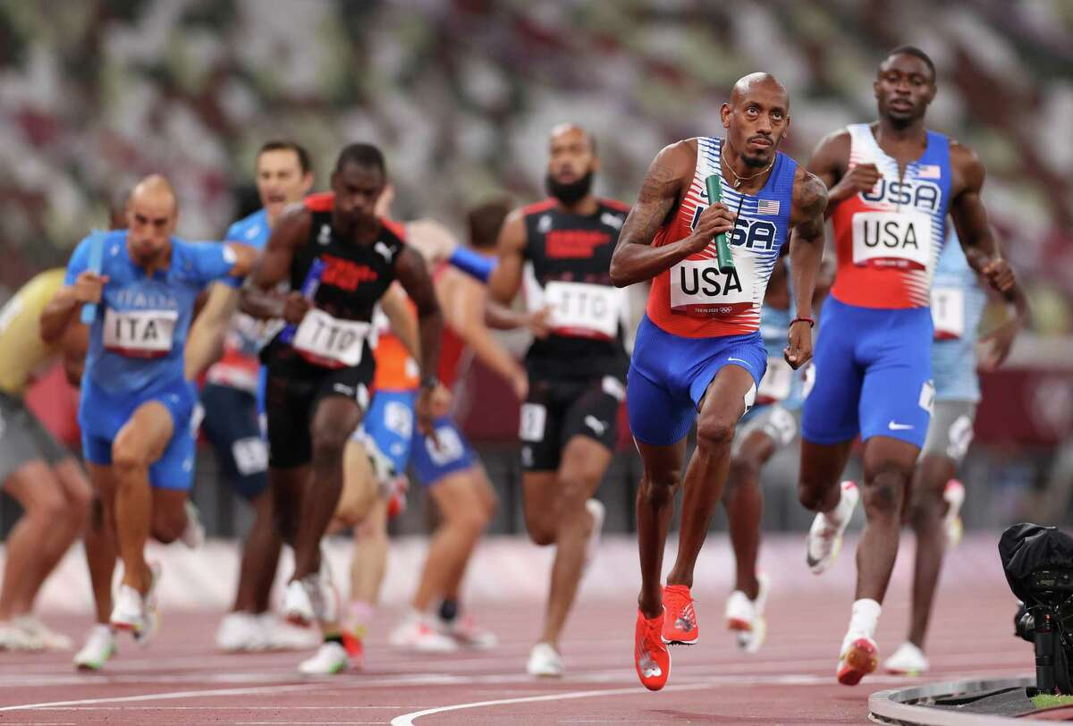 Vernon Norwood and the U.S. didn't have any problems in reaching the final of the men's 4x400 relay.