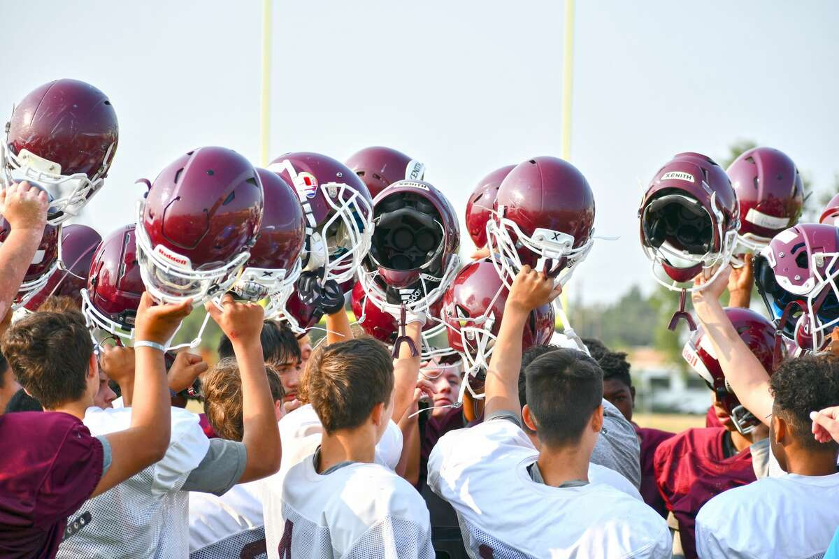 The Tulia football team continued it preseason practice schedule on Thursday morning.