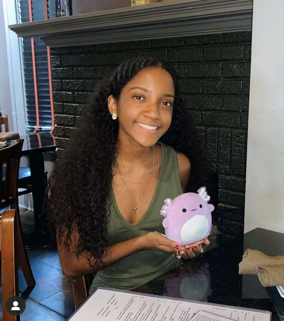 Taylor Hakimi said her Squishmallows helped her deal with the pressures of being a high school senior, working 30 to 35 hours a week in an ice cream shop and living in the age of COVID-19.