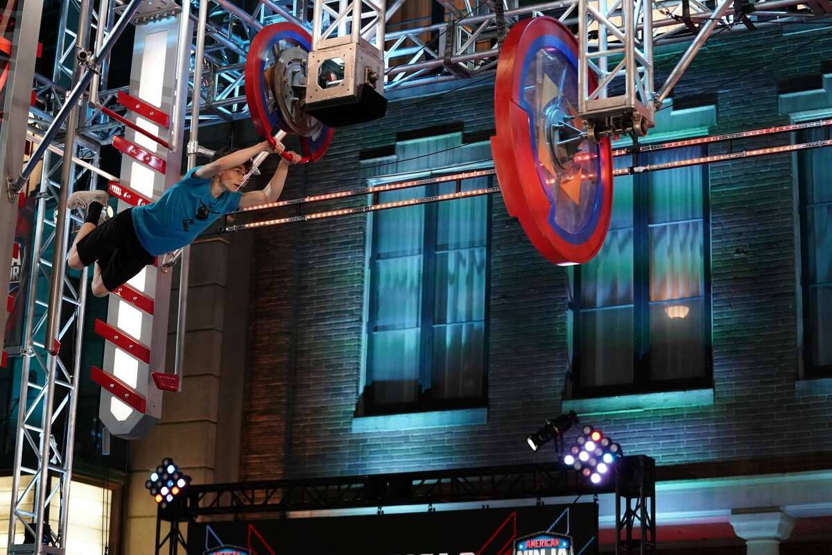 "AMERICAN NINJA WARRIOR -- ""Regional Finals"" -- Pictured: Jay Lewis -- (Photo by: Elizabeth Morris/NBC)"