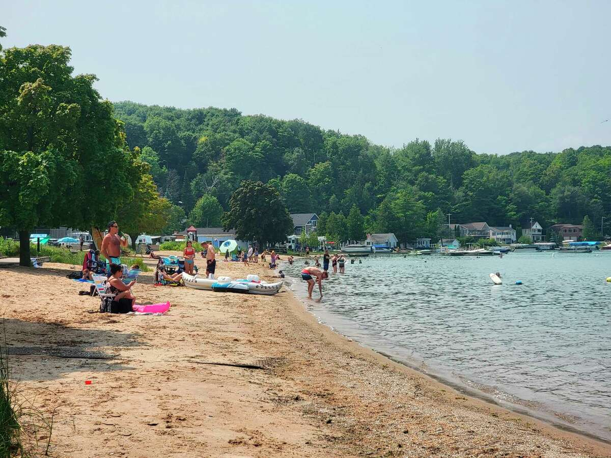 Beulah Beach is safe for swimming once again after E.coli levels from samples taken Aug. 4 tested too high for any bodily contact. (Colin Merry/Record Patriot)