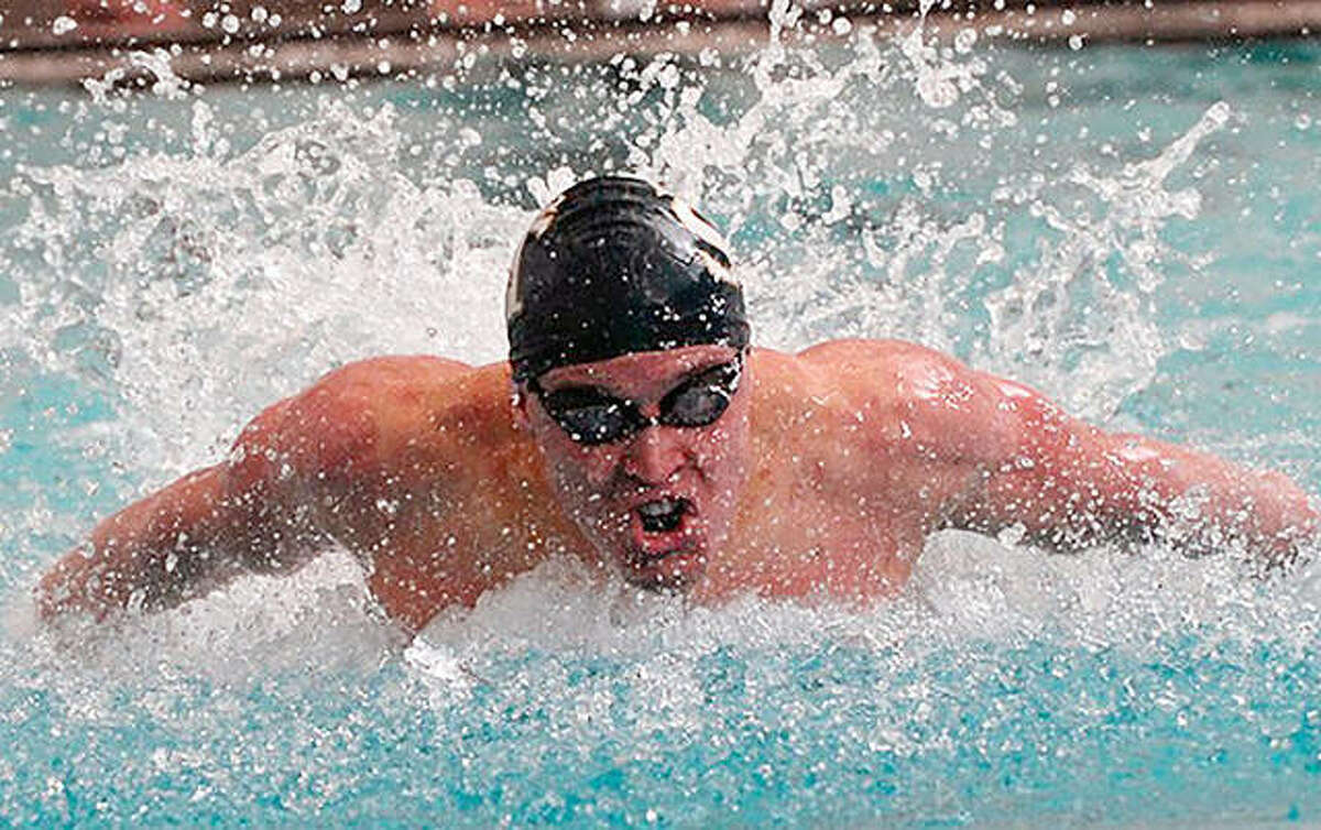 Andrew Schranck will be among the former Summers Port swimmers who take part in Saturday's first Summers Port Alumni Swim meet at the Godfrey pool. Start time is set 9 am.