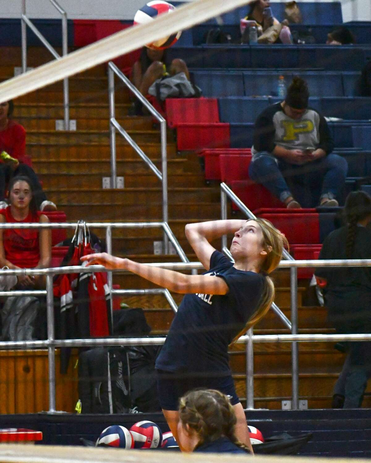 The Plainview volleyball team hosted a multi-team scrimmage on Friday in the Dog House.