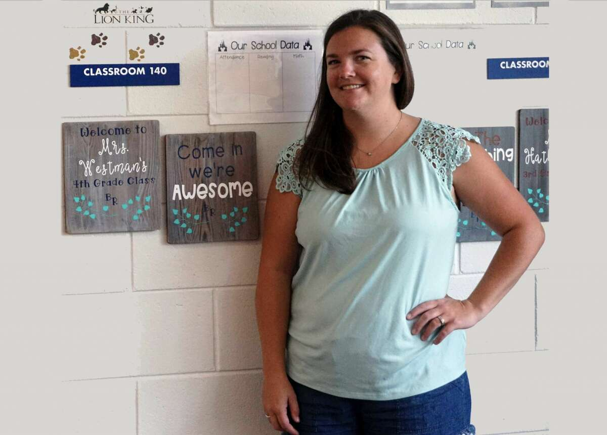 Emily Westman, a fourth-grade teacher at Brookside Elementary, is ecstatic with the prospect of a new class and a new school year.
