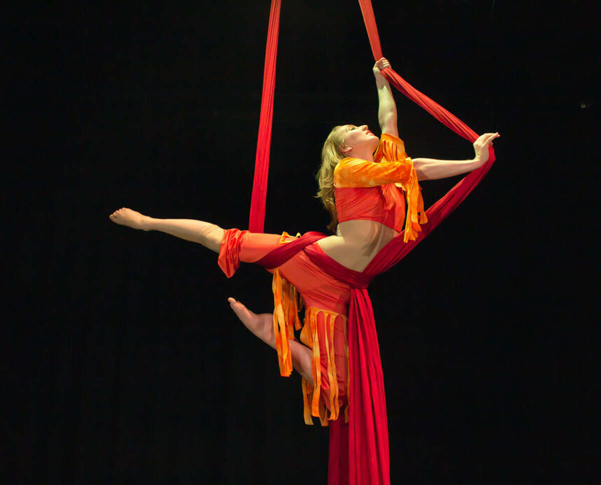 Pictured is a Circus Kirkus performer.
