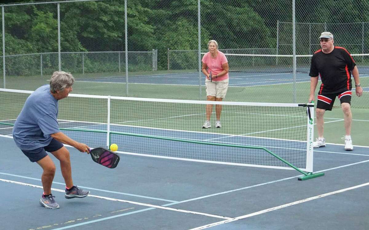 Pickleball's popularity in Big Rapids continues to increase with each passing year. (Pioneer photo/Joe Judd)