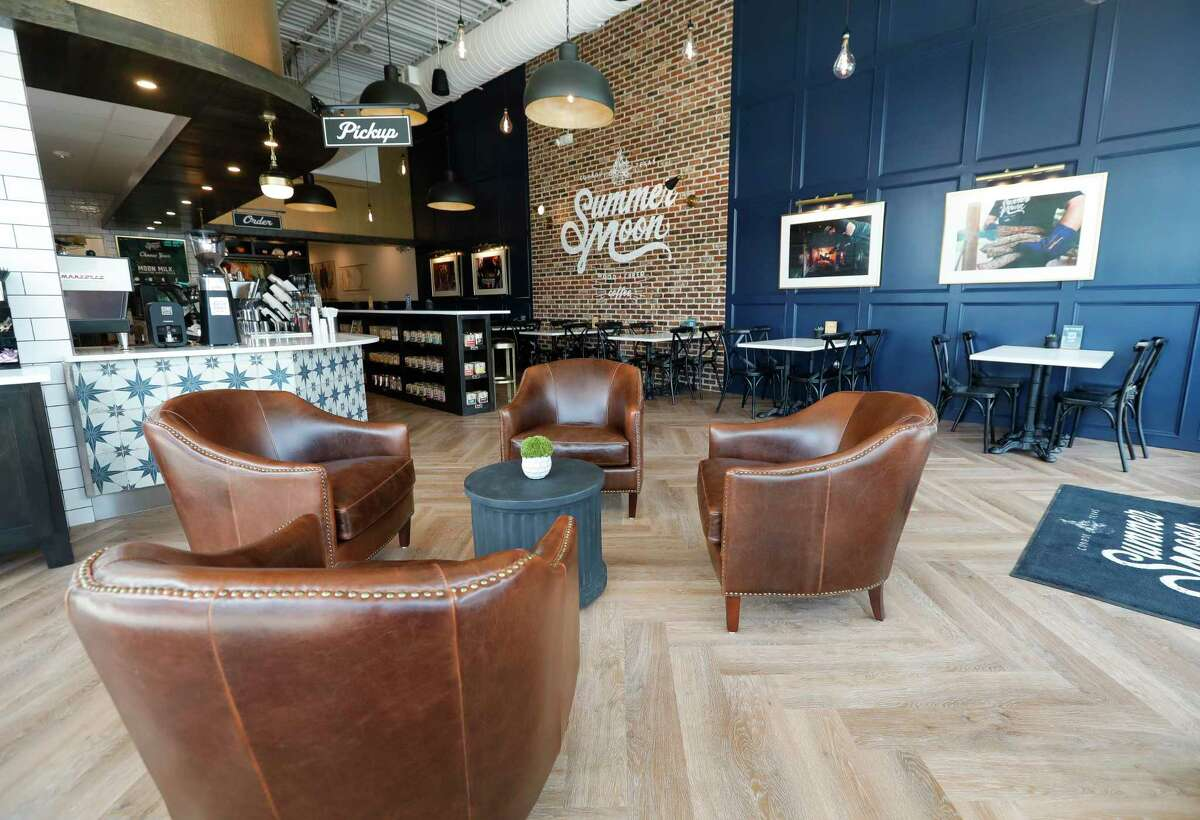 Summer Moon Coffee off South Loop 336 will open to the public on Saturday. The Conroe location is the fourth in the Houston metro area.