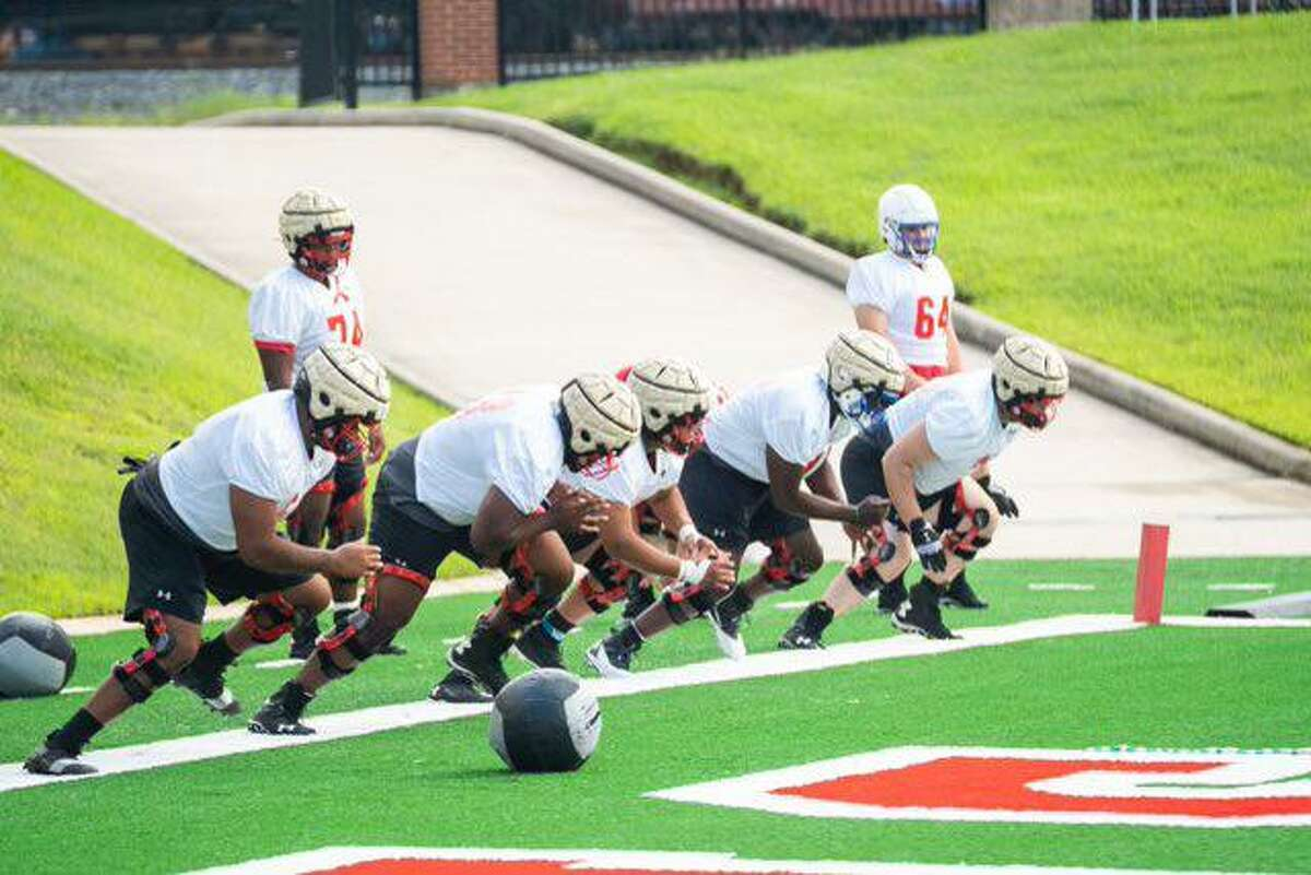 The Lamar University football team started its fall camp on Friday as the Cardinals prepare for a new season.