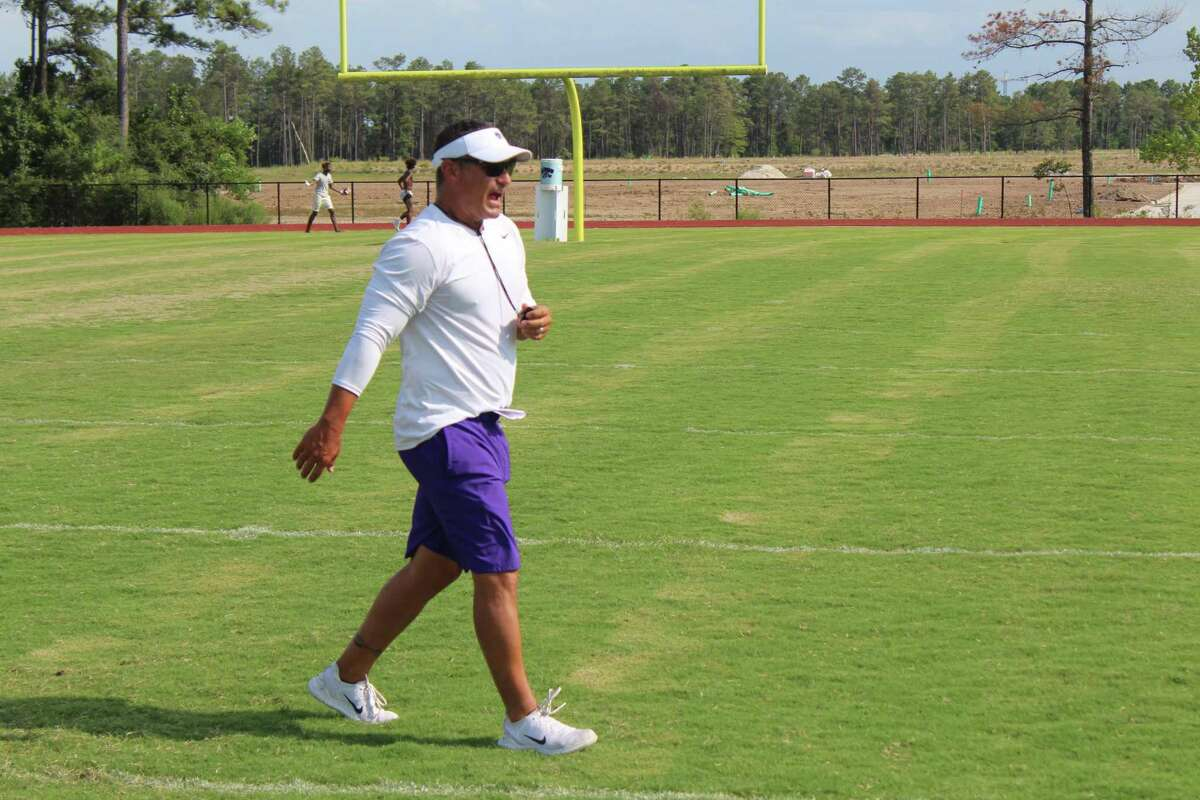 Friday will be Marcus Schulz's first game at Turner Stadium as Humble's head coach.