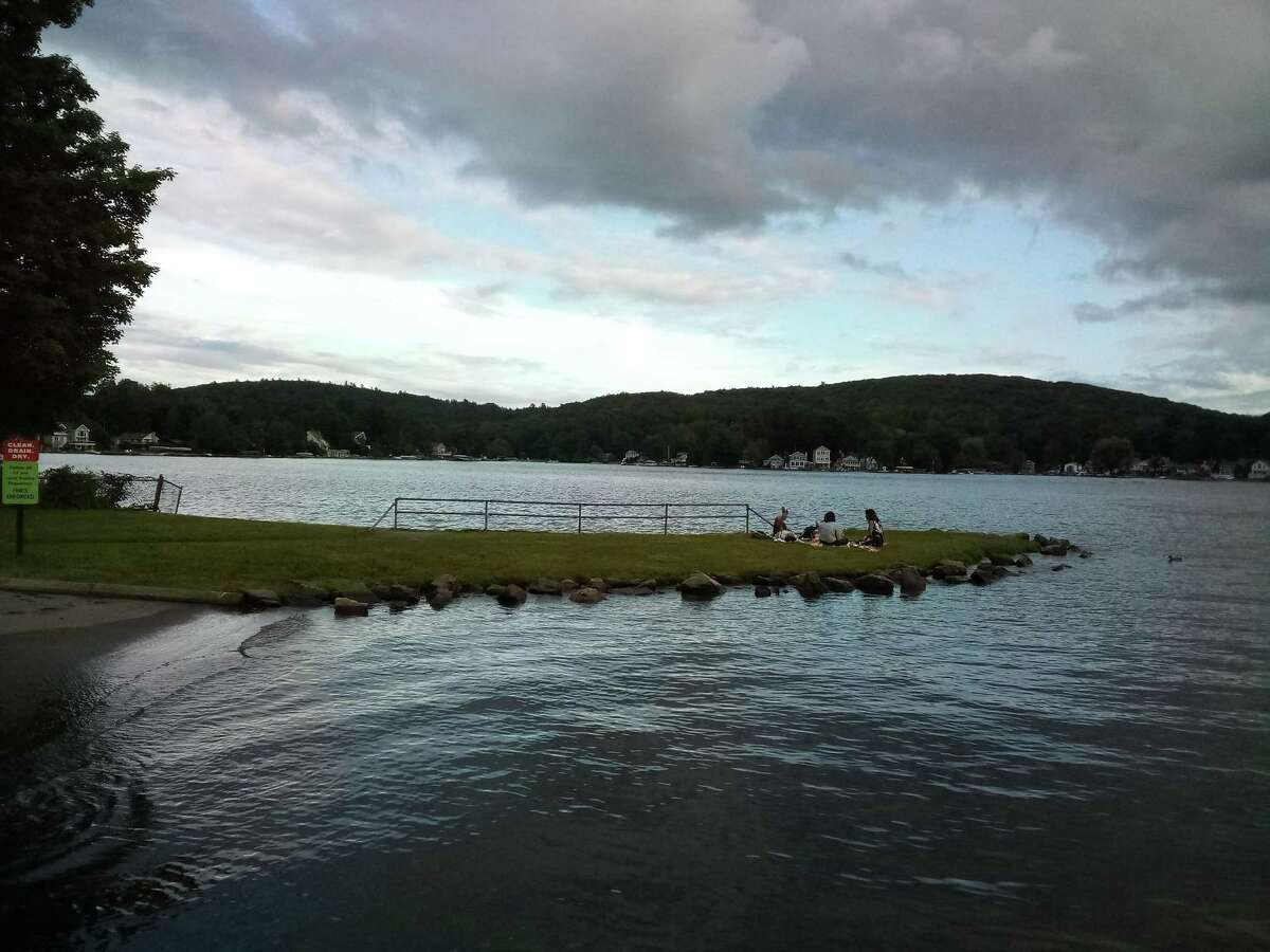 The Planning & Zoning Commission recently updated and approved its Plan of Conservation and Development, a document that oversees open space inventory, business growth and other assets. Pictured is Highland Lake.