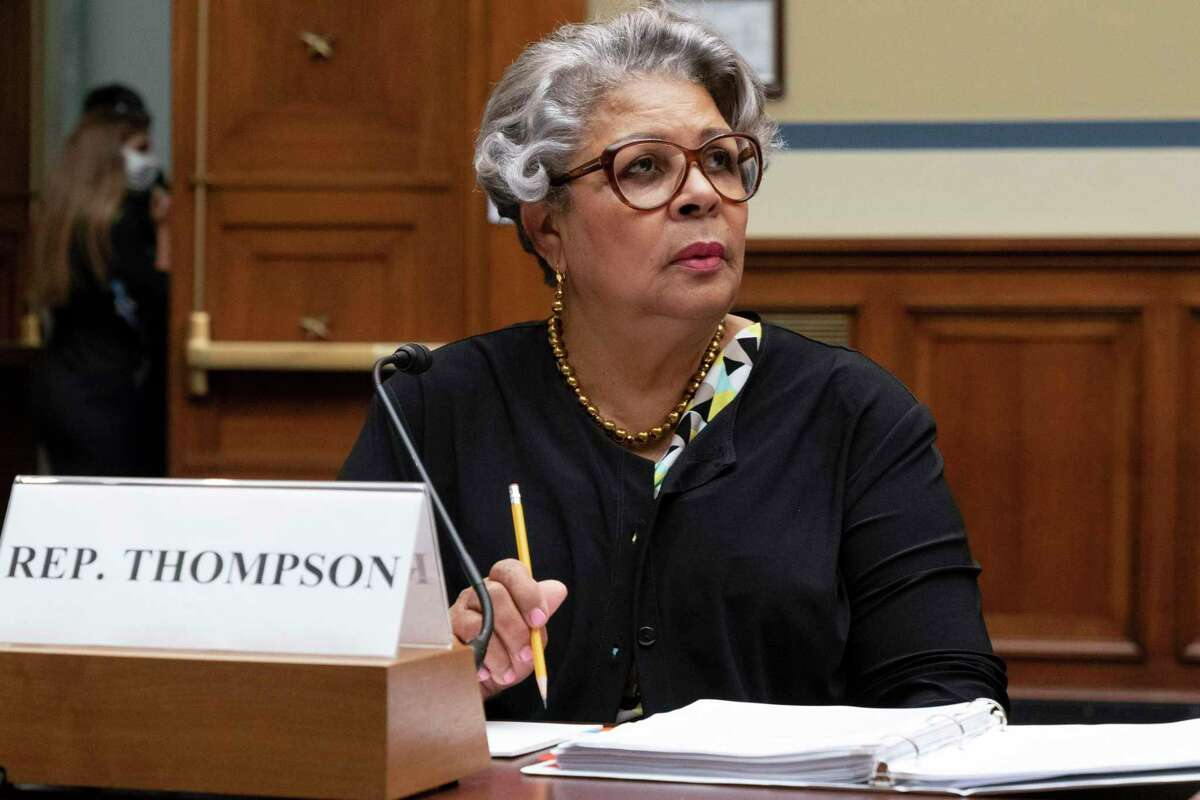 Texas State Democratic Rep. Senfronia Thompson, attends a House Committee on Oversight and Reform hearing about voting rights in Texas, Thursday, July 29, 2021, on Capitol Hill in Washington. (AP Photo/Jacquelyn Martin)