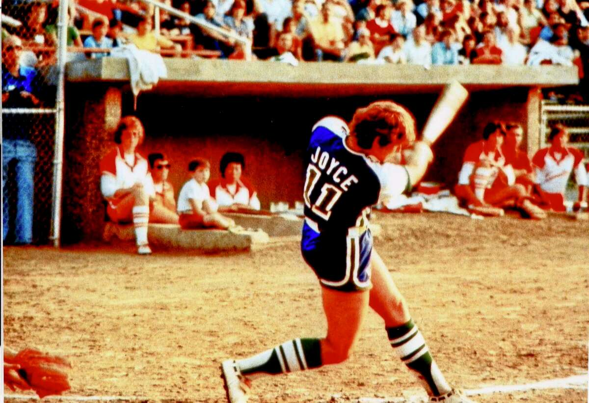 In addition to being a world-class pitcher, Joan Joyce was six-time Brakettes batting champion in the 1960s and '70s.