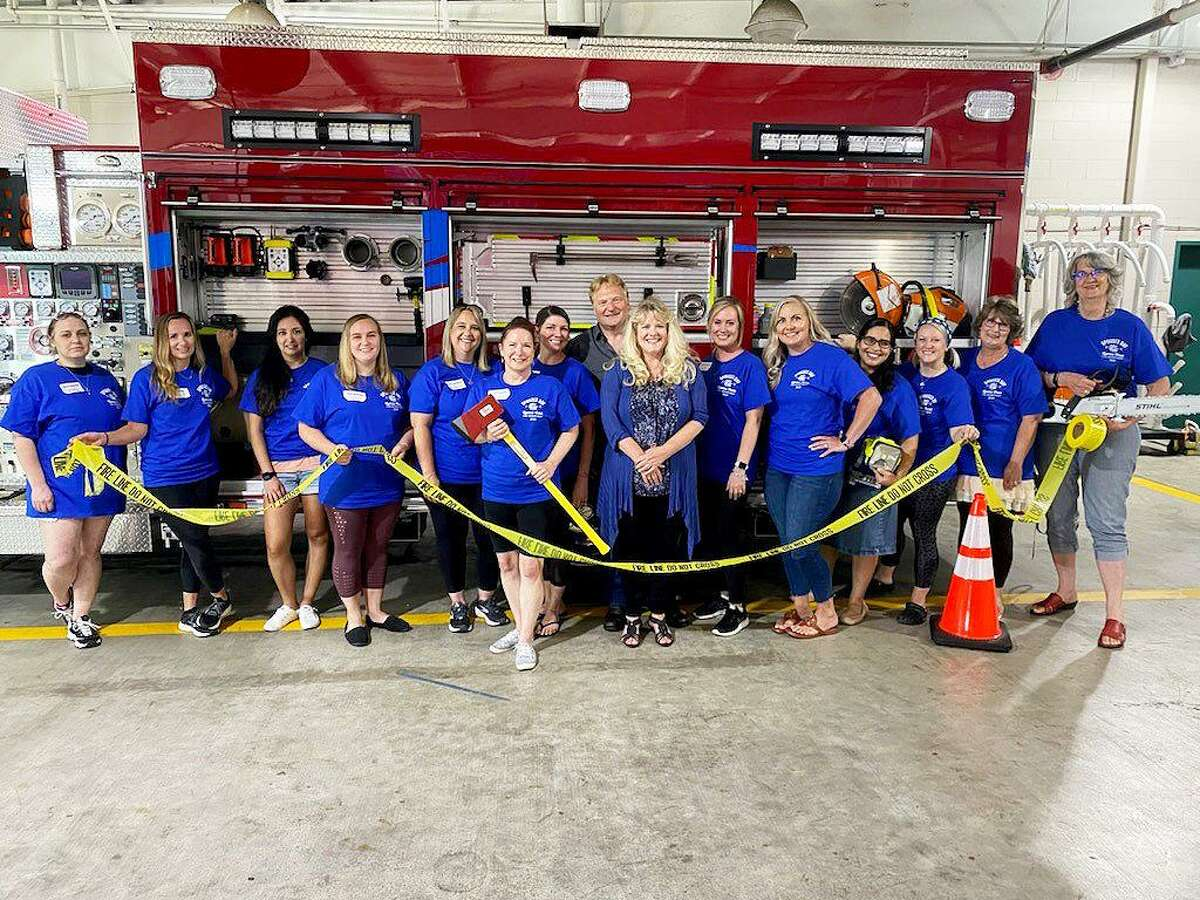 Cy-Creek Fire Department District Chief Jason Corthell said the Spouse's Day event was a success and will continue again next year. The Cy-Creek Spouses from l-r, Emily Murphy, Julie Howe, Victoria Lambert, Erin Medina, Sarah Lawrence, Lori Lieder, Patty Corthell, Mike Gagliano, Anne Gagliano, Christy Jones, Tiffany McDugle, Diana Perez, Jenelle Juppe, Terri Kimble, and Janet Fleming.