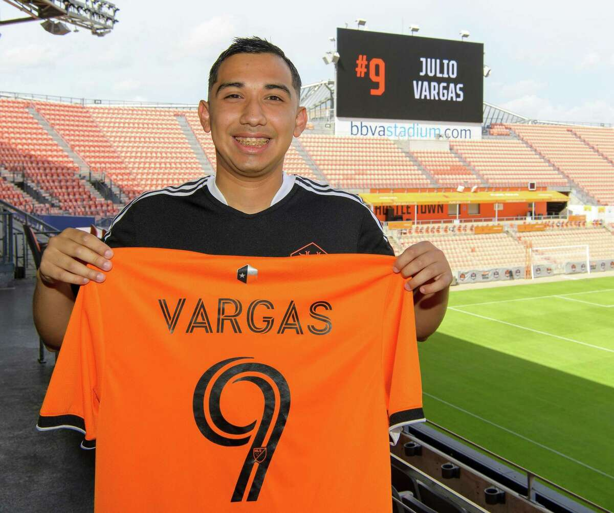 Julio Vargas was signed to the 2021 Houston Dynamo FC Unified Team. The squad will compete in a Special Olympics soccer match against the FC Dallas Unified Team on Sept. 18.