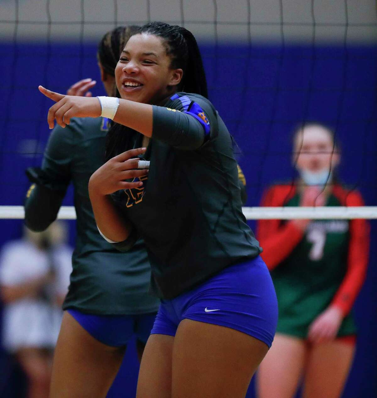 The Greater Houston Volleyball Coaches Association announced the 2021 preseason teams for classifications 6A-4A plus private schools on Aug. 10. Klein High's Ariana Brown (15) was named to the Class 6A preseason team.