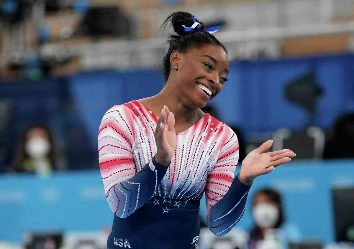 """Simone Biles hopes """"Gold Over America"""" can become a recurring gymnastics production along the lines of ice skating revues that filled arenas during the 1990s and 2000s."""