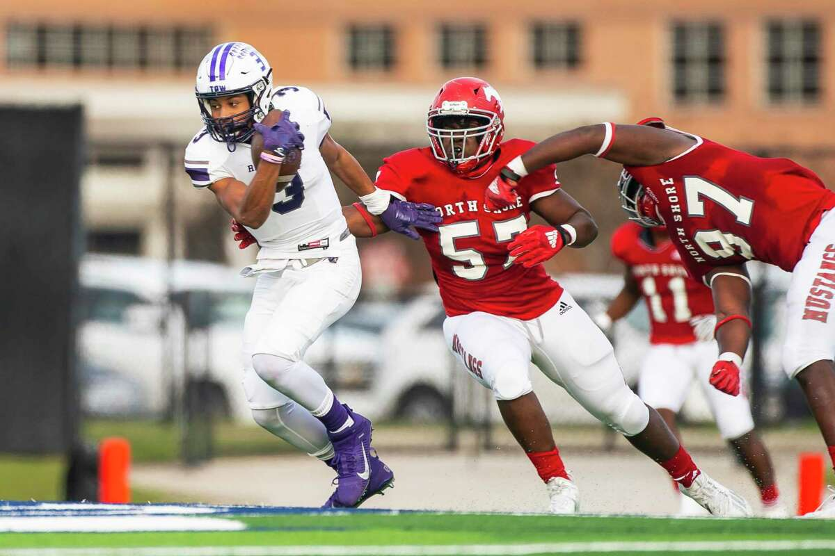 Ridge Point quarterback Bert Emanuel has size and speed already, but continues to show progress.