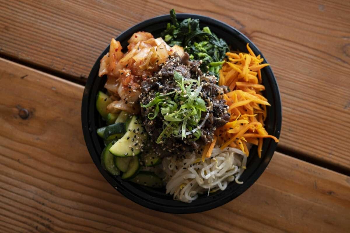 Korean beef bulgogi at Frymazing.