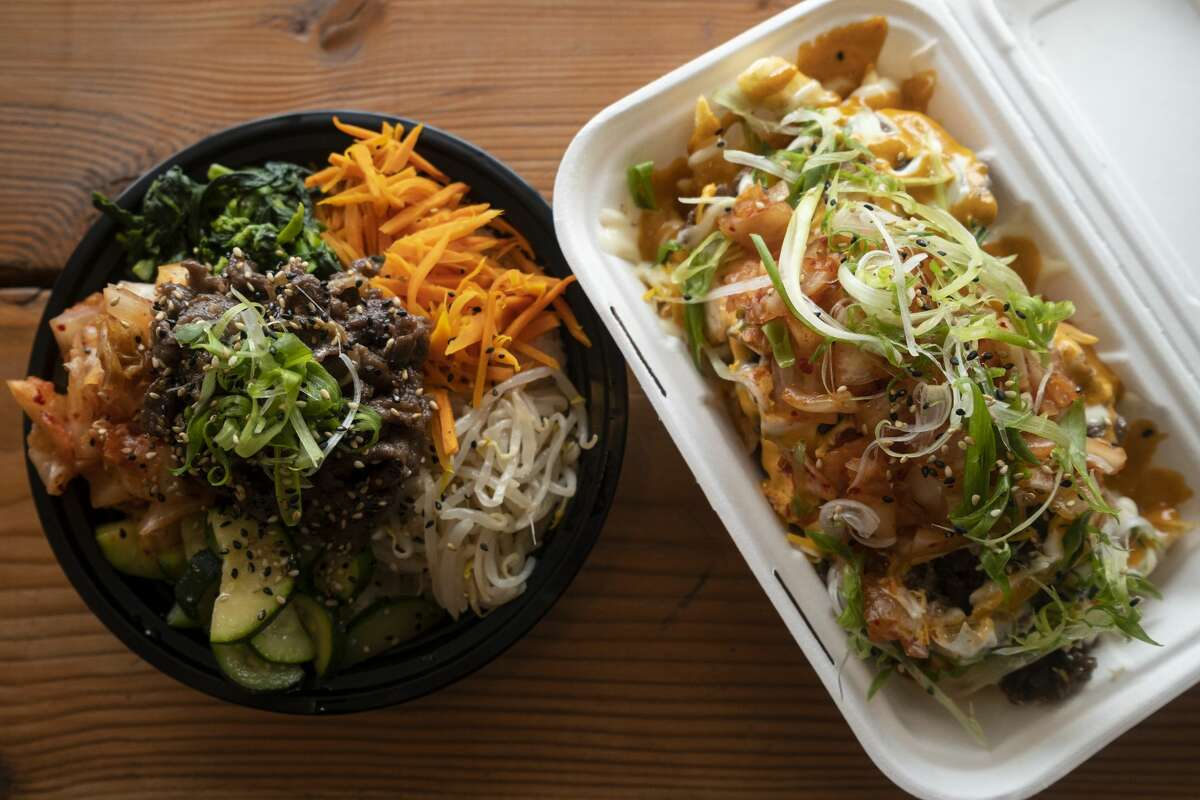 "Korean bulgogi and ""Fire Fries""at Frymazing in Vallejo,"