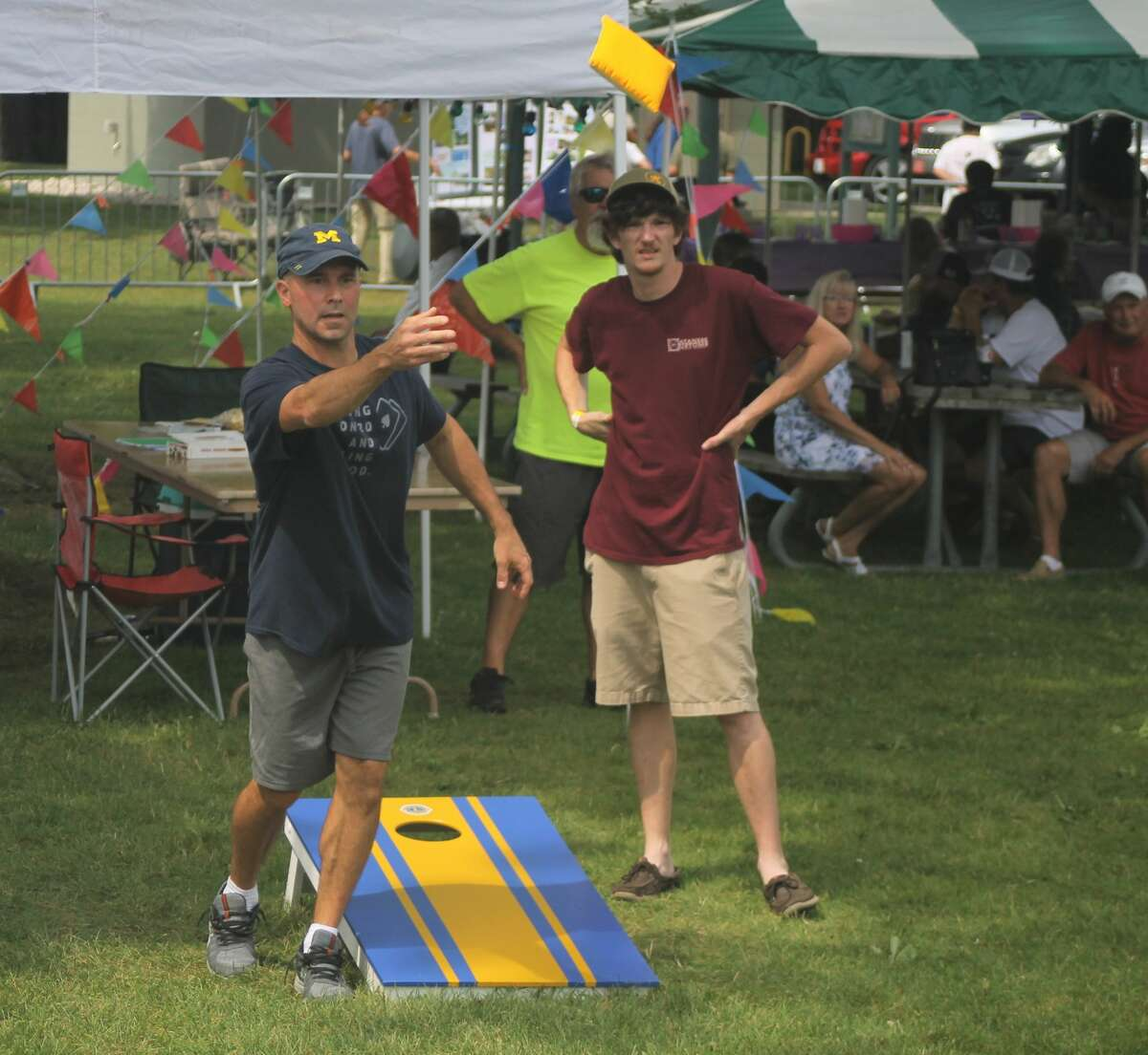 Onekama Days was in full swing over the weekend, with a car show, scavenger hunt, cornhole tournament and more to entertain residents and visitors alike.