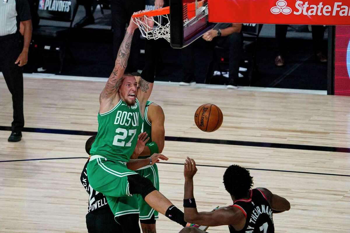 Daniel Theis hasaveraged 7.5 points and 4.9 rebounds in 19.3 minutes per game with the Celtics and Bulls.