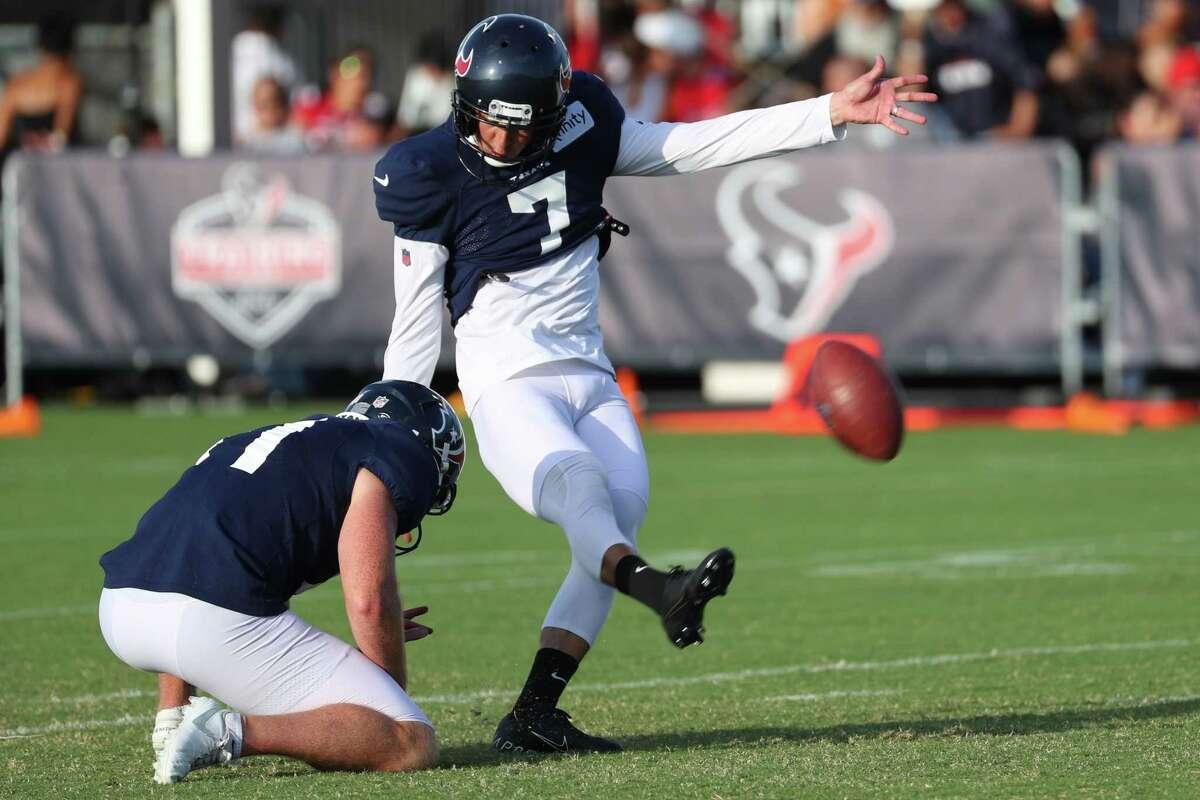 Texans coach David Culley has said he expects Ka'imi Fairbairn to play against the Bills.