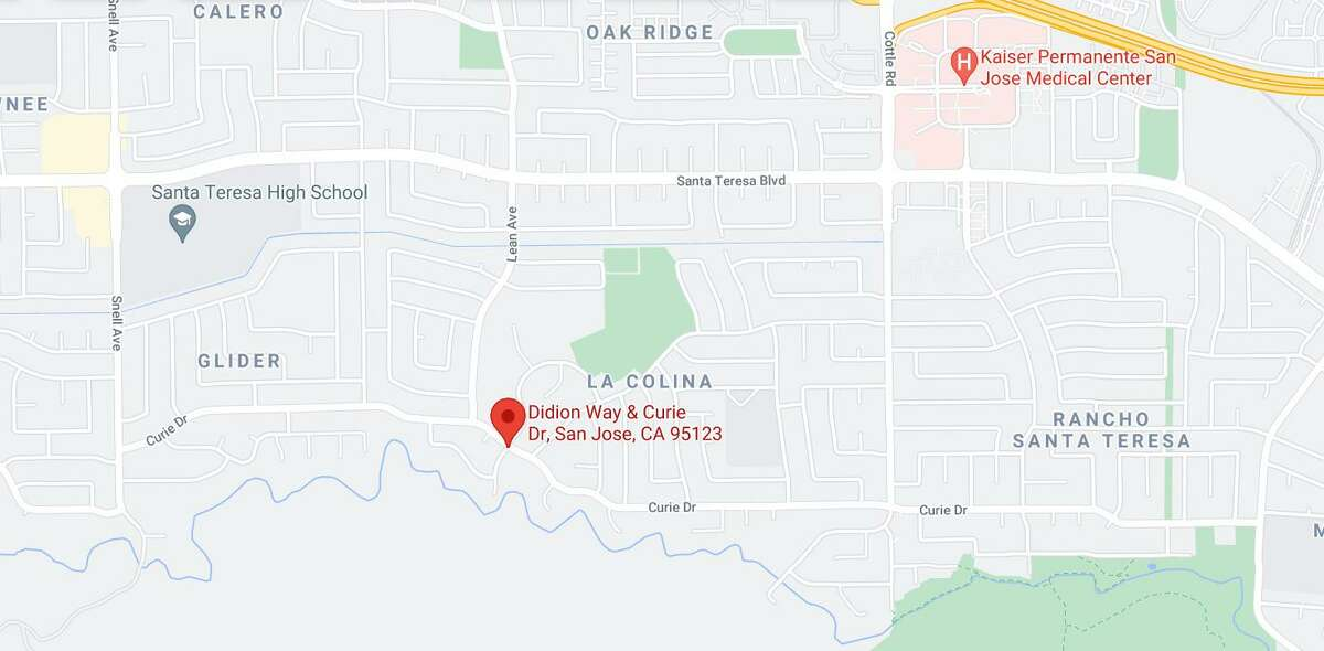 A young girl died Saturday after losing control of her bicycle and hitting a concrete wall in San Jose, police said.