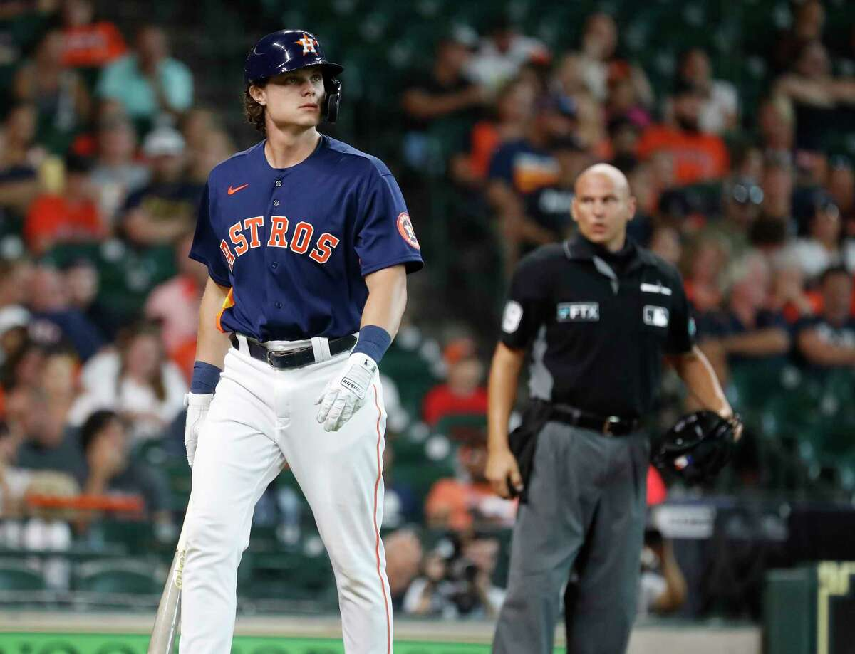 After previously making appearances off the bench, Jake Meyers got his first start Wednesday since being promoted at the July 31 trade deadline.