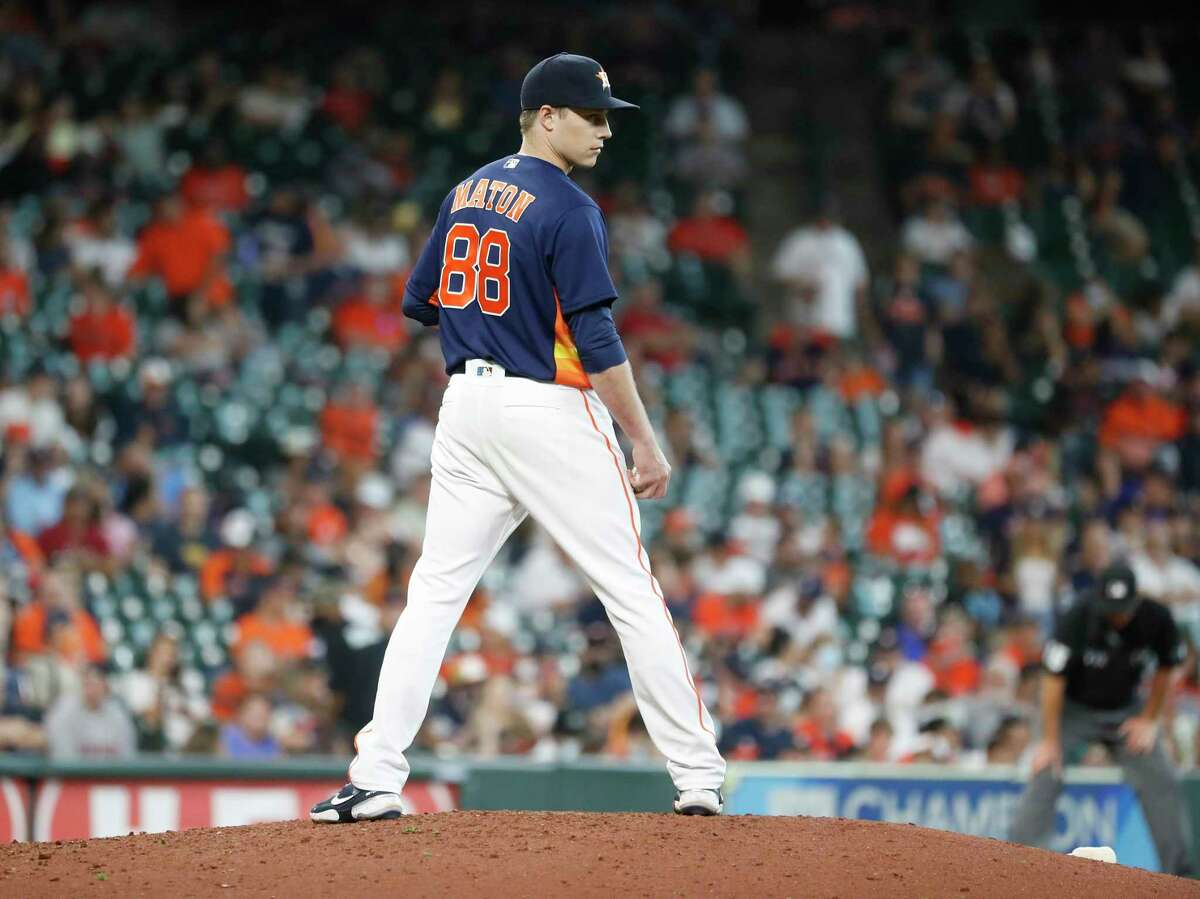 Phil Maton and the Astros' trade-deadline acquisitions have helped shore up a leaky bullpen. But the starting rotation has become an issue for the team.