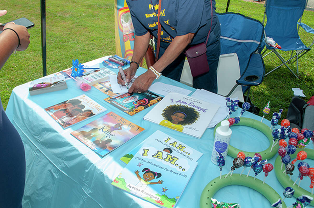 Dozens turned out Saturday for fun, food and music during a back-to-school event sponsored by the Jacksonville branch of the NAACP. Health screenings and school supplies were also offered during the day.