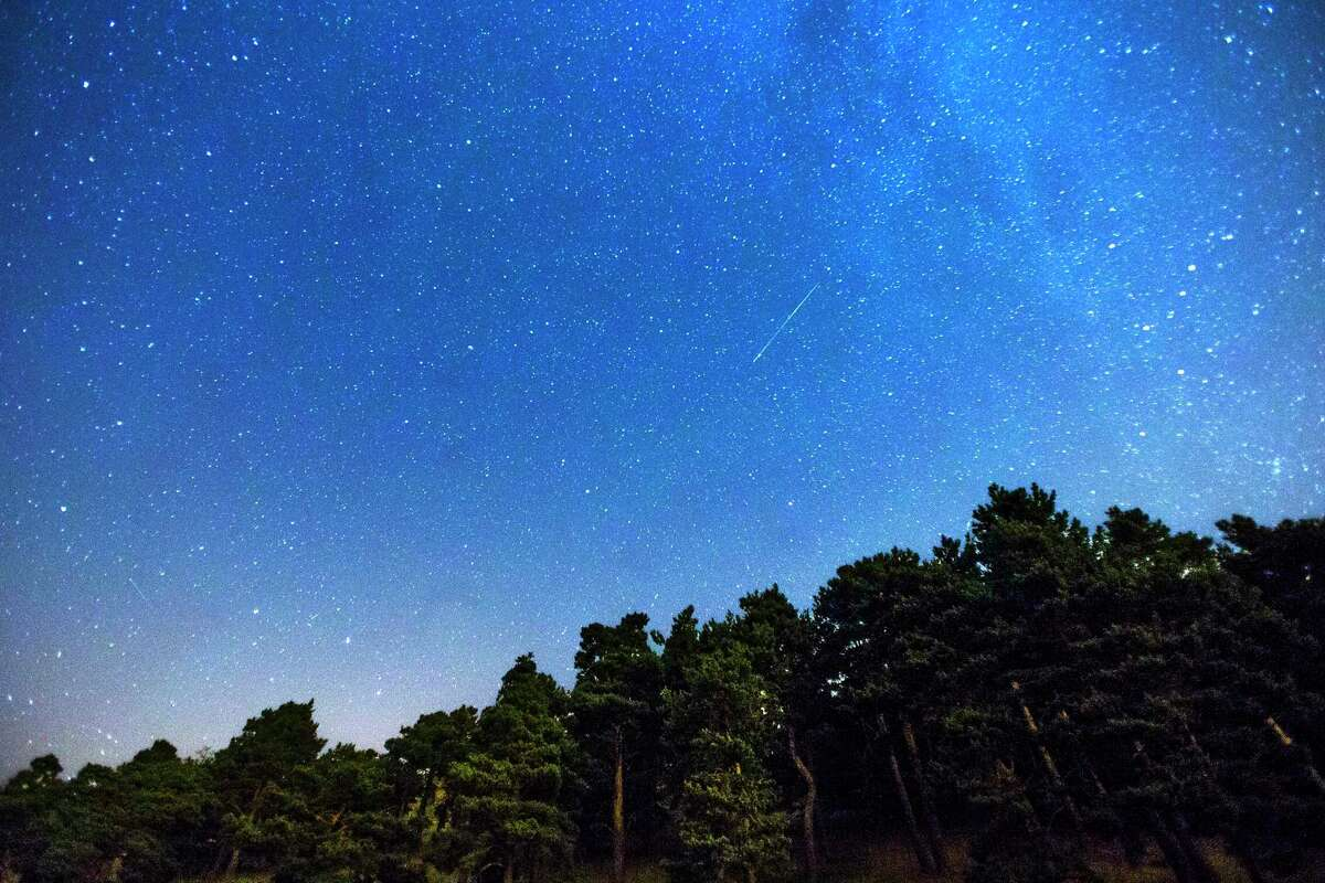 The Perseid meteor shower, shown in 2014 near Madrid, is expected to peak this week in the Bay Area, starting Wednesday at 11 p.m.