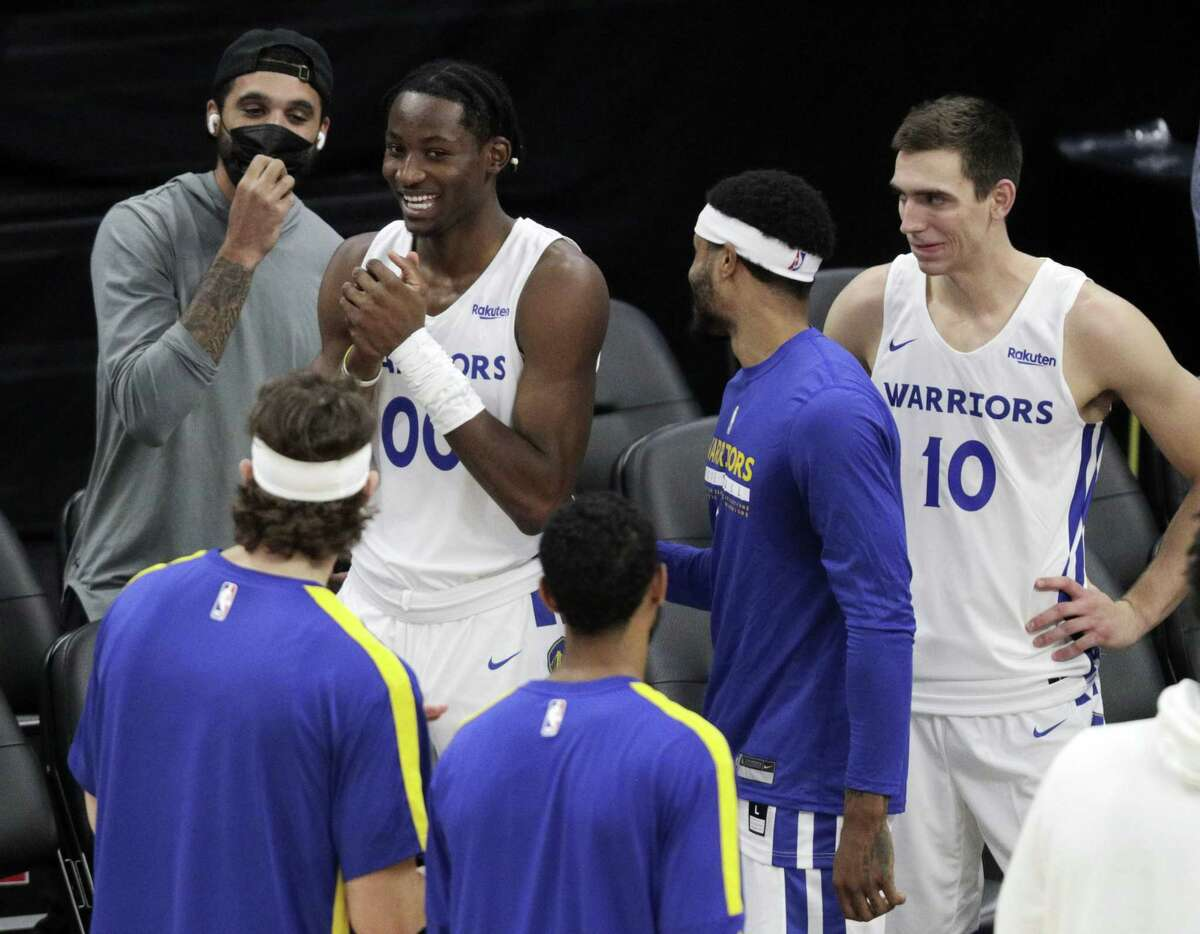 Jonathan Kuminga and the Warriors' summer league team in Las Vegas are scheduled to face Orlando at 5 p.m. Monday (NBCSBA/95.7).
