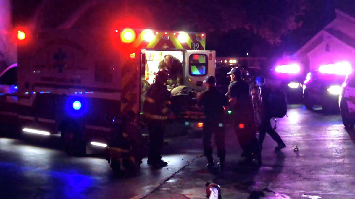 One man died at an apartment fire at the Fredd Townhome Apartments in the Medical Center area on Aug. 9, the San Antonio Fire Department said.
