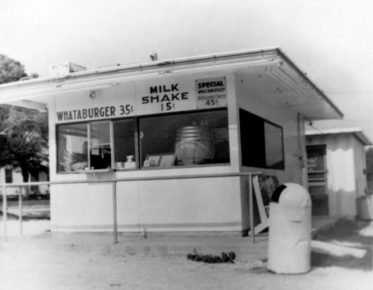 In a photo provided by Whataburger, the company's original hamburger stand in Corpus Christi, Texas. To turn control of an enterprise founded nearly 70 years ago in Corpus Christi to some investors in Illinois that has been more than some people in Texas can stomach. (Whataburger via The New York Times)