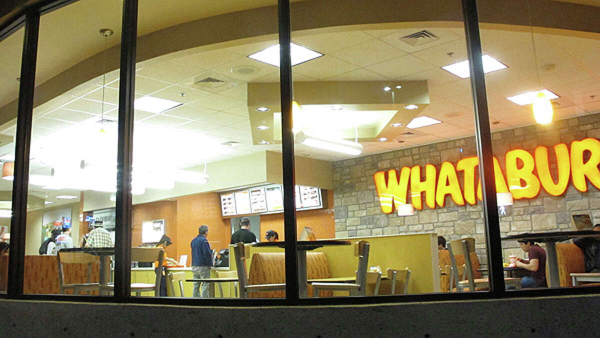 The downtown Whataburger when it first opened.