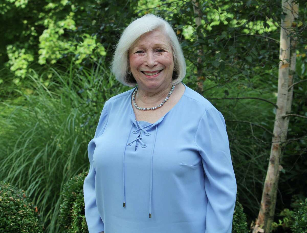 RTM Moderator Velma Heller on Aug. 22, 2017 at her Westport, Conn. home. Heller has announced that she will not run for reelection to the RTM after serving about 20 year