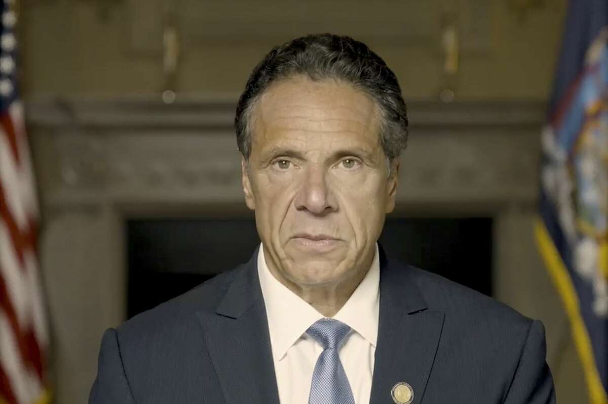 Former Gov. Andrew M. Cuomo is the target of a criminal investigation into an aide's allegation that he groped her breast during an encounter at the Executive Mansion in November.