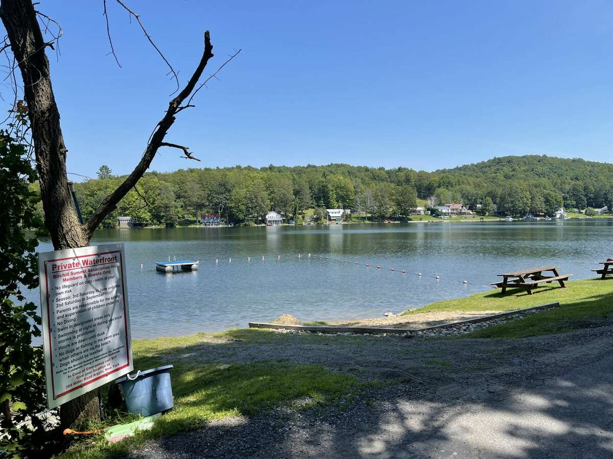 The residents of Summit Lake in Argyle were reelingfrom news two of their neighbors died in helicopter crash on Saturday, Aug. 9, 2021.Craig E. Seeleyand his daughter, 34-year-old Katie MSeeley, died Saturday when his experimental helicopter crashed nearby.