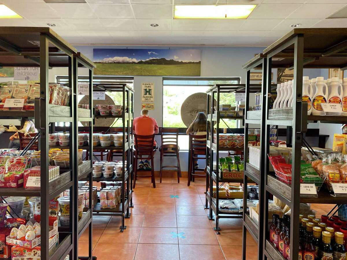 The shelves at Diamond Head General Store in San Bruno are filled with Hawaiian, Japanese and Korean snacks and products.